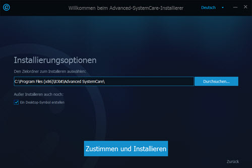 advanced-systemcare-installierungs-optionen