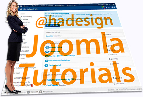 ahadesign joomla tutorials