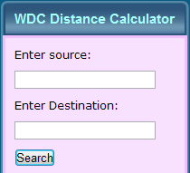 Distance Calculator - Frontend