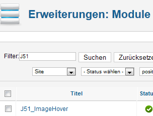 CSS3 Image Hover - Modul
