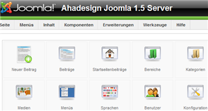 Joomla 1.5 - Backend