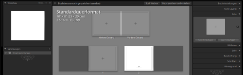 Lightroom 4 - Fotobuch