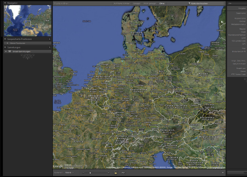 Lightroom 4 - Map
