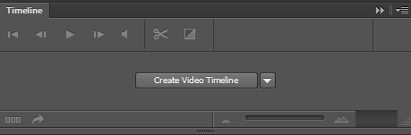 Photoshop CS6 - Timeline