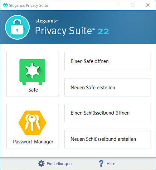 steganos-privacy-suite22-startbereich