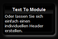 Text to Modul - Modultext