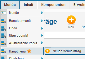 User Article - Neuer Navigationsbutton