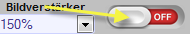 Zoom Lightbox Toolbar aktivieren