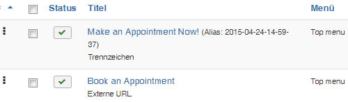 appointment-menueeintraege
