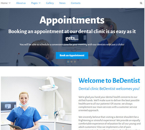 tm-website-bedentist