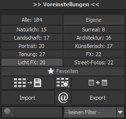 blackwhiteprojects6pro-voreinstellungen