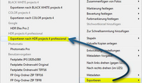 hdr-projects-4-prof-exportieren