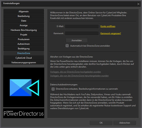 powerdirector16ultra-voreinstellungen