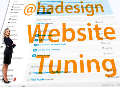 Ahadesign - Website Tuning