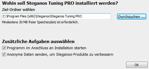 steganos-tuningpro-installation-optionen