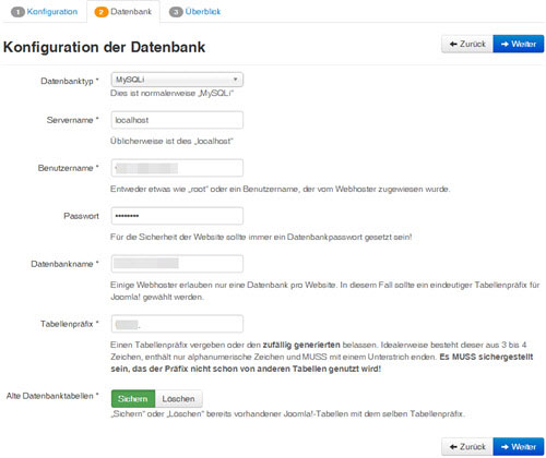 installation-joomla-datenbank