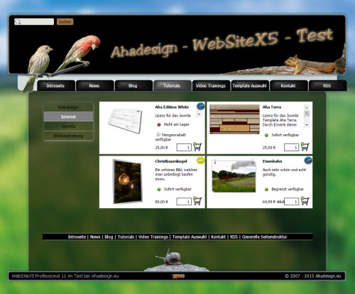websitex5-ahadesign-test-online